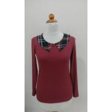 Блуза с яка тип риза